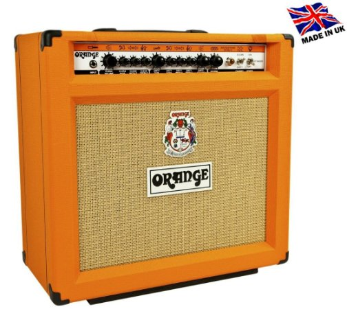 Caixa Amplificada Orange Rockerverb 50 MKII Valvulado 50W 1x12 para Guitarra
