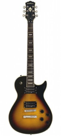 Guitarra Washburn WIN DLX Deluxe Idol Series Flame Vintage Sunburst