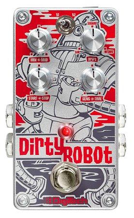 Pedal de Efeitos Digitech Dirty Robot Stereo Mini Synth para Guitarra