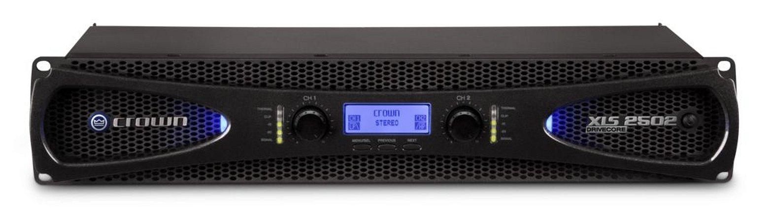 Amplificador de Áudio Crown XLS 2502 127v Professional Power Amplifier
