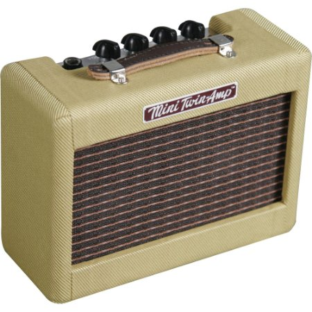 Mini Amplificador Fender Twin Amp 57' Tweed Vintage