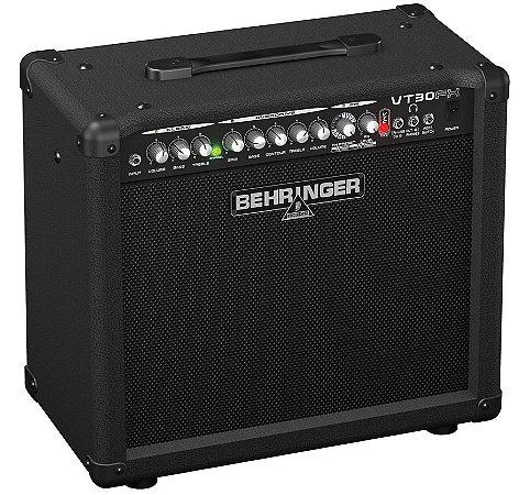 "Caixa Amplificada Behringer Virtube VT30FX 110W 1x10"" para Guitarra"