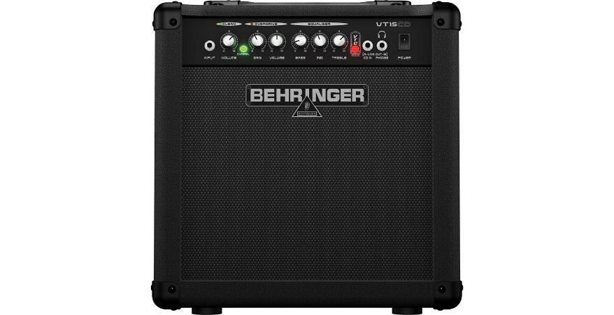 "Caixa Amplificada Behringer VIRTUBE VT15CD 15W 1x8"" para Guitarra"