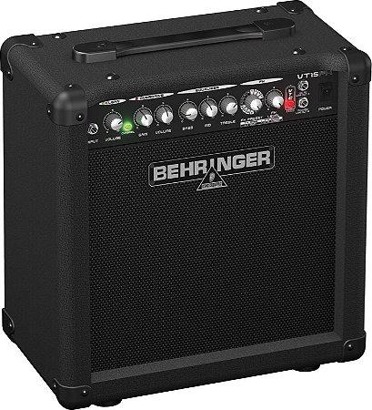 "Caixa Amplificada Behringer VIRTUBE VT15FX 15W 1x8"" para Guitarra"