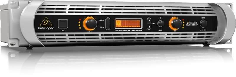 Amplificador de Potência Behringer Inuke NU6000DSP 3000W