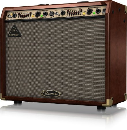 "Caixa Amplificada Behringer Ultracoustic ACX900 90W 2x8"" para Violão"