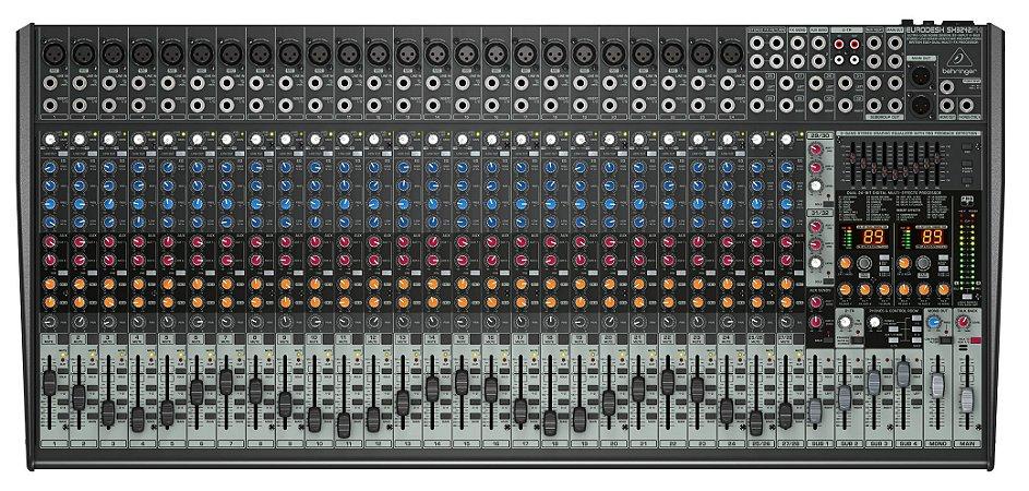 Mesa de Som Behringer Eurodesk SX3242FX 28 Canais
