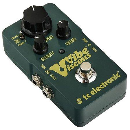 Pedal de Efeitos TC Electronic Viscous Vibe