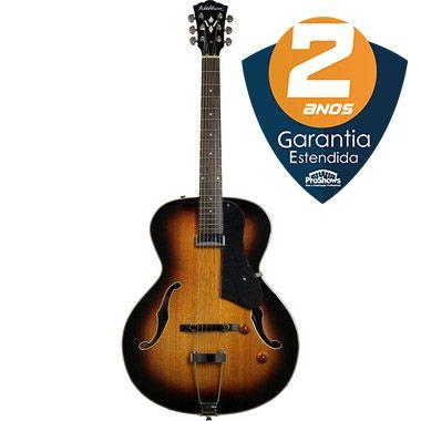Guitarra Acústica Washburn HB15 TS Tobacco Sunburst com Bag