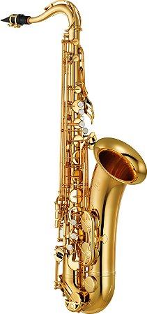 Saxofone Tenor Yamaha YTS280 Bb Laqueado Dourado com Case