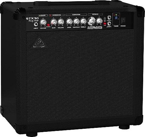 "Caixa Amplificada Behringer GTX30 30W 1x12"" para Guitarra"
