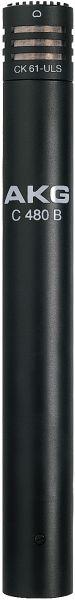 Microfone AKG C480 B Combo com CK61 ULS Condensador Cardioide
