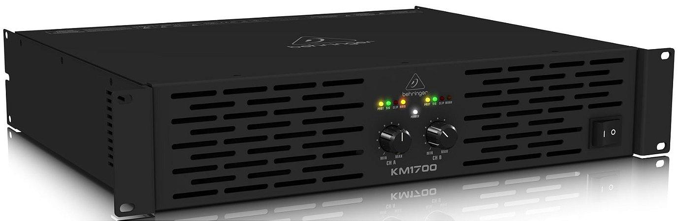 Amplificador de Potência Behringer Km1700 1700W