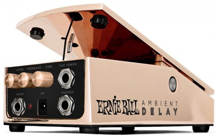 Pedal de Efeito Ernie Ball Ambient Delay 6184 Bronze para Guitarra
