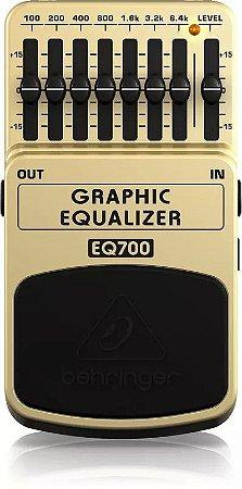 Pedal de Efeitos Behringer EQ700 Graphic Equalizer para Guitarra
