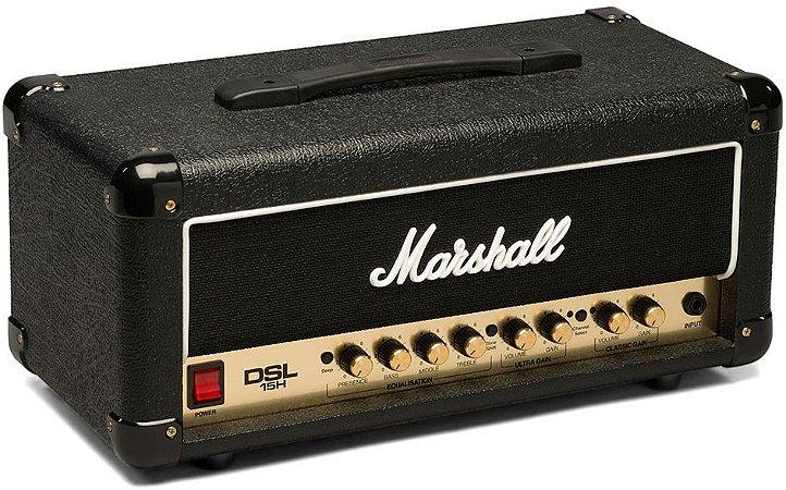 Cabeçote Marshall DSL15H 15W para Guitarra