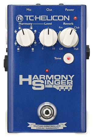 Pedal de Efeitos TC Helicon Harmony Singer para Voz