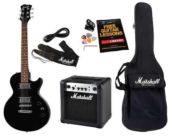 Kit Pack Guitarra Marshall MGAP