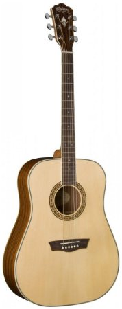 Violão Acústico Washburn WD10S Dreadnought Natural