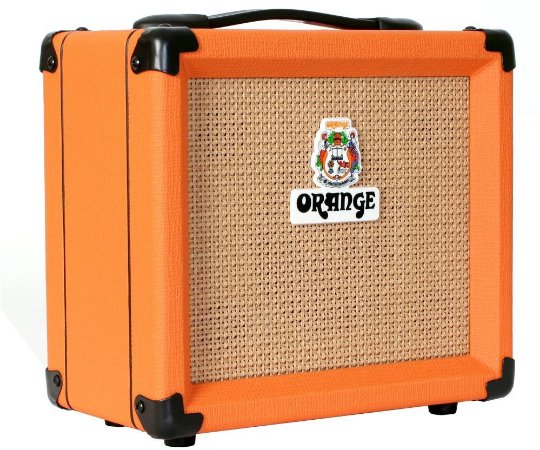 Caixa Amplificada Orange Crush 12 12W 1x6 Laranja para Guitarra