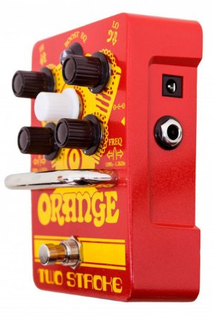 Pedal Orange Two Stroke Boost EQ