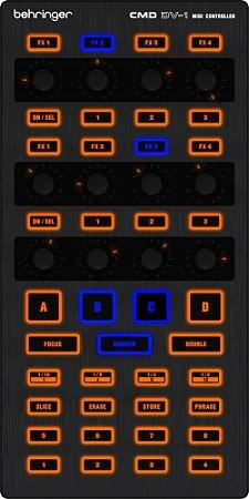Controlador Behringer CMD DV-1 DJ USB