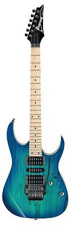 Guitarra Ibanez RG370 AHMZ Blue Moon Burst com Floyd Rose