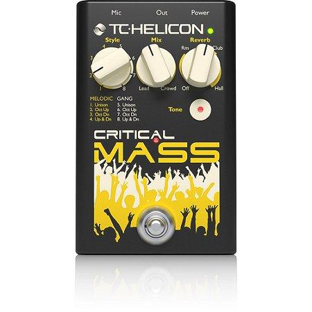 Pedal de Efeitos TC Helicon Critical Mass para Voz