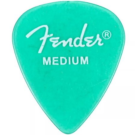 Kit Palhetas Fender California Clear Medium 12pçs