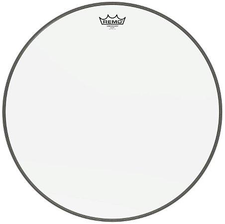 Pele by Remo 20'' Ambassador Br-1320-00 Transparente Para Bumbo