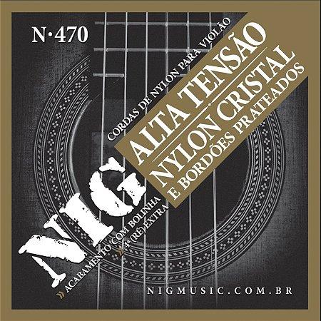 Encordamento Nig N-470 .029''/.044'' para Violão Nylon