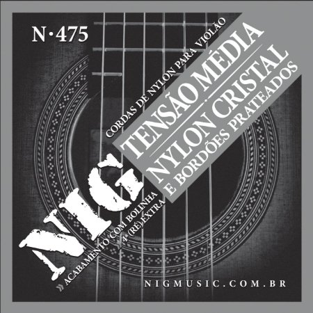 Encordoamento Nig N-475 .028/.043 para Violão Nylon