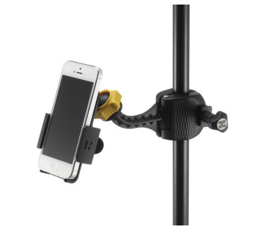 Suporte Hercules Holder DG200B para Smartphone com Ajuste Variáveis