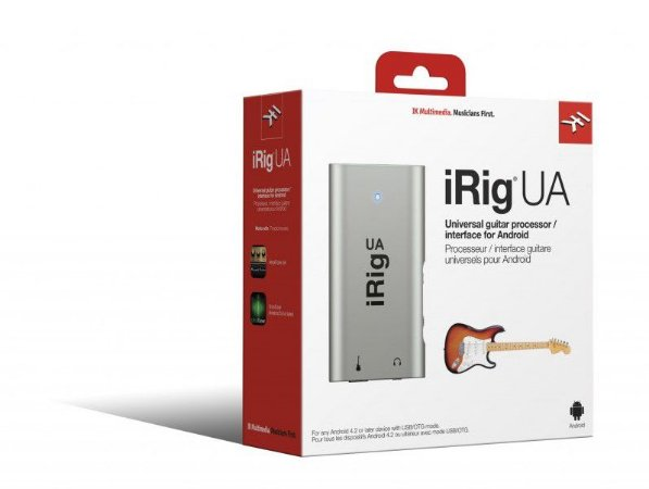 Interface de Aúdio Ik Multimedia Irig UA para Android