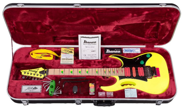 Guitarra Ibanez Jem 777 Signature Steve Vai 30Th Anniversary com Case