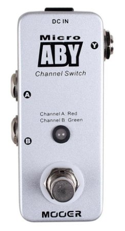 Pedal de Troca de Canais Mooer Micro ABY Channel Switching