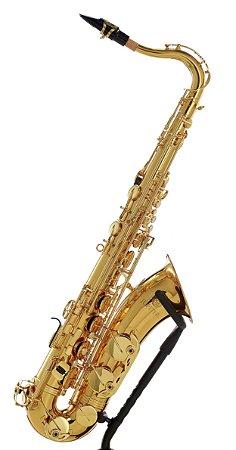 Sax Tenor Jupiter JTS700Q Série 700 Bb Laqueado com Estojo