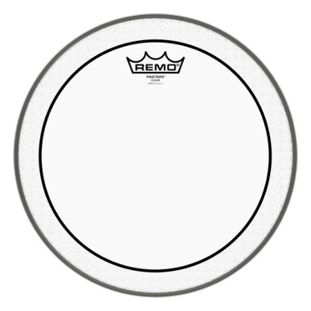 Pele by Remo 12'' Clear PS-0312-00 Pinstripe transparente Hidráulica
