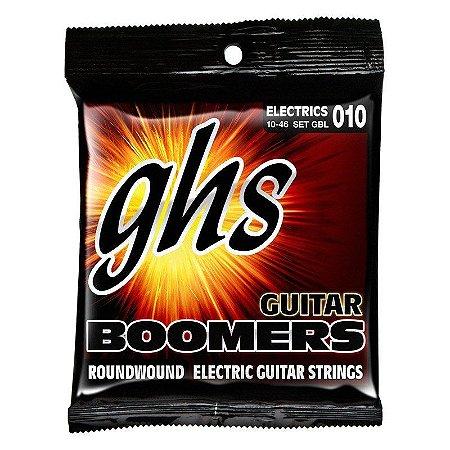 Encordoamento GHS Boomers .010 /.046 GBL para Guitarra