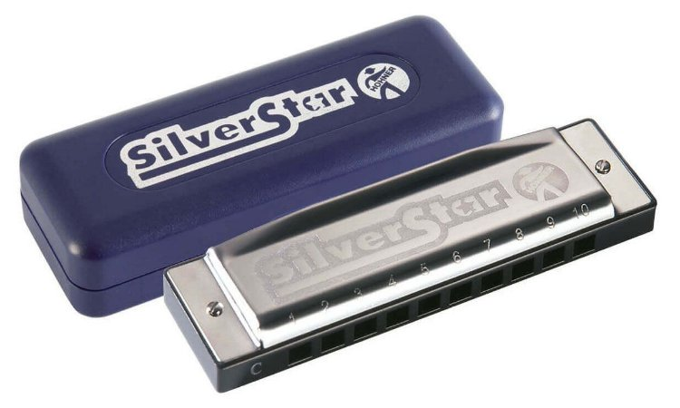 Gaita Diatônica Hohner Silver Star 504/20