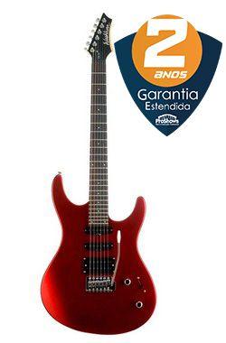 Kit Guitarra Washburn RX10MC Pack RX Séries com Amplificador WA15G 15W