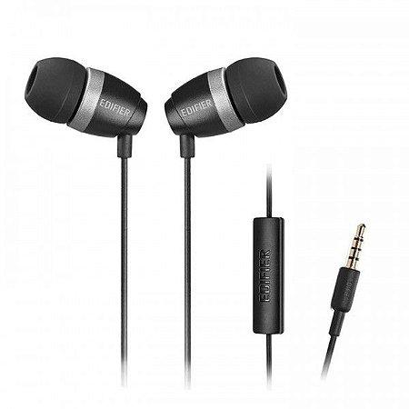 Fone de Ouvido Edifier P210 Estéreo In Ear com Microfone