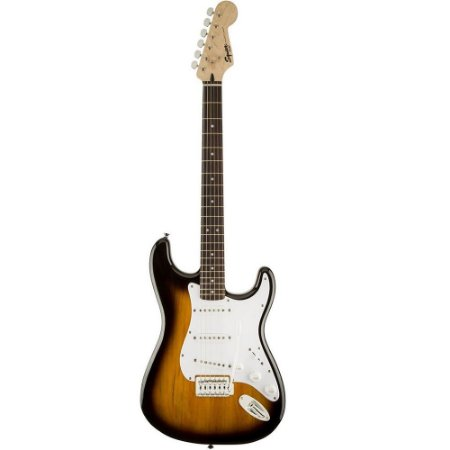 Guitarra Fender Squier Bullet Stratocaster SSS Brown Sunburst