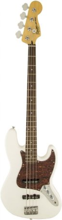 Contrabaixo 4 Cordas Fender Squier Vintage Modified Jazz Bass Olimpic White
