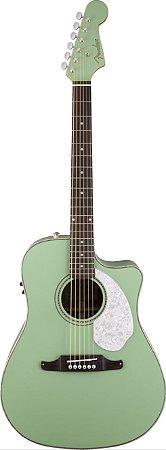 Violão Eletro-Acústico Fender Sce Surf Green