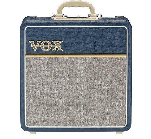 "Caixa Amplificada Valvulada Vox AC4C1-BL 1x10"" 4W"
