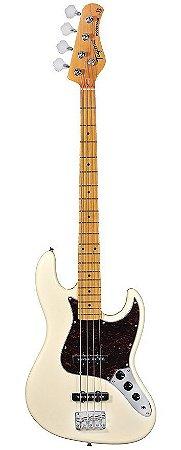 Contrabaixo 4 Cordas Tagima TW-73 Woodstock Séries White