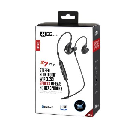 Fone De Ouvido MEE Audio X7 Plus Bluetooth Wireless Sports In-Ear HD