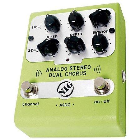 Pedal Nig Dual Chorus ASDC para Guitarra/Baixo