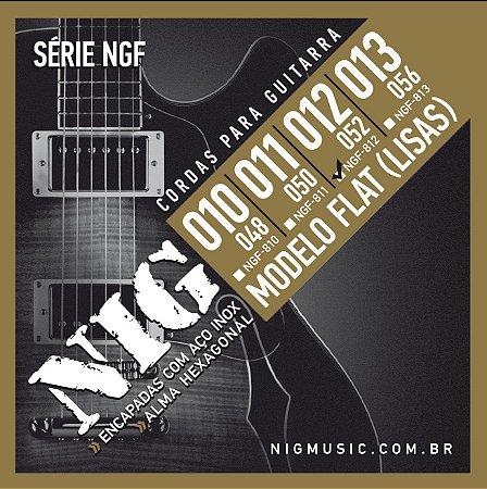 Encordoamento Nig Série NGF-812 .012''/.52'' para Guitarra